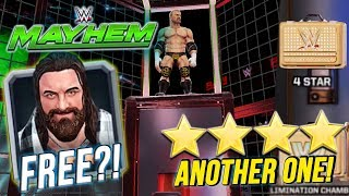 WWE MAYHEM | GET A FREE ELIAS?! ANOTHER 4 STAR LOOTCASE OPENED!