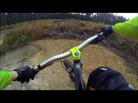 Swinley biking. Red trail. And newbury snellsmore common January 1, 2017