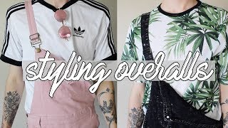 HOW I STYLE: OVERALLS | men