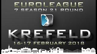 (Game 25-27) Krefeld Round - European Underwater Rugby League