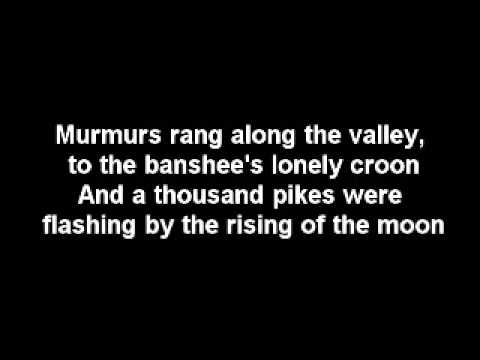 The Dubliners - The rising of the moon [Lyrics]