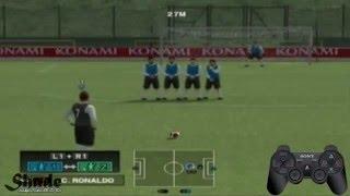 تعلم الى لعبة كرة القدم (ps2)