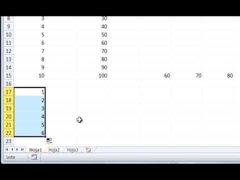 Curso Gratuito de Microsoft Excel 2010 Nivel Básico - Módulo 04 - Parte 02.