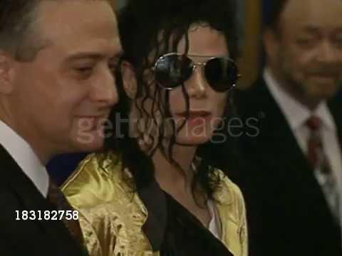 Michael Jackson meets Prince Charles 1992