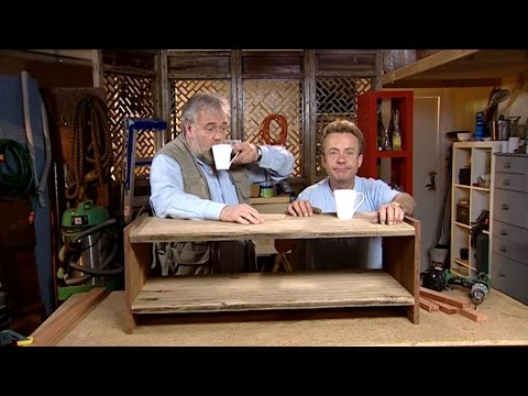 how to make a tv stand