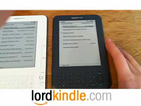 Kindle 2G vs 3G Comparison Kindle Free WiFi 3G Review & Sale @ LordKindle.com