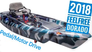 NEW: FeelFree Dorado Kayak with Pedal/Motor System!