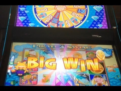 Baron Von Bacon's Million Credit Wheel - A Slot Story! Lots of Bonuses!  ~ WMS