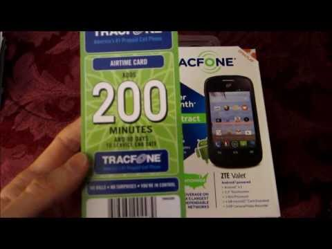 Compare The Tracfone ZTE Valet And Samsung Centura Androids