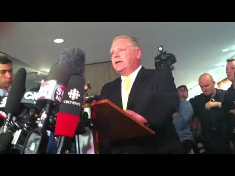 Doug Ford addresses Crack Cocaine Allegations Regarding His Brother