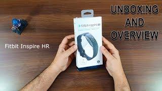 Fitbit Inspire HR smart activity tracker Unboxing and overview   Gadget Bridge