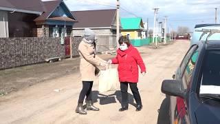 """Благотворительный фонд """"Изгелек"""" совместно с фондом """"Урал"""" продолжает помогать пожилым"""