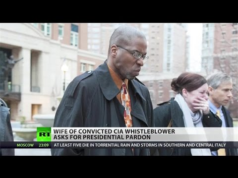 Whistleblower's wife appeals to Obama for presidential pardon