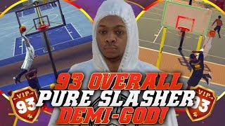 NBA 2K19 Park: 93 Overall Pushes 99 Contact Dunks Beyond Capacity! Insane Dunks!
