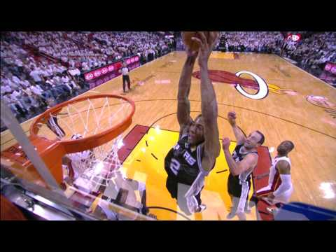 Kawhi Leonard's Powerful Putback Dunk from All Angles