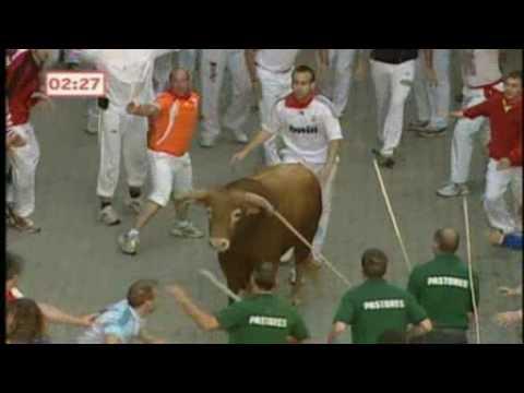Spanish Bull Run Deaths Death in Pamplona Bull Run