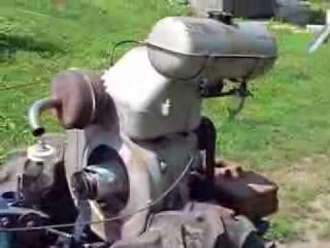 Мотоблок своими руками с двигателем зид