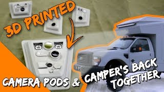 3D Printed Camera Pods and Dash Pods - How to Build an Overlander