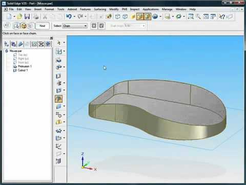 Creating Parts with Solid Edge