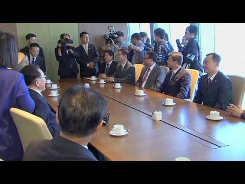 North Korean delegation arrives in south for talks