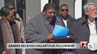 Civil rights leader William Barber wins $625,000 'genius grant'