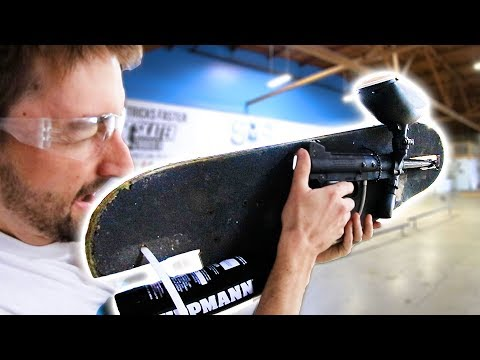THE PAINTBALL SKATEBOARD | YMIWSI EP 190