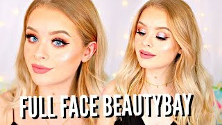 FULL FACE OF BEAUTYBAY!! PROM MAKEUP TUTORIAL AD | sophdoesnails