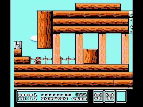 Super Mario Bros 3 2nd Run - World 1 part 1 Vizzed.com Play - User video