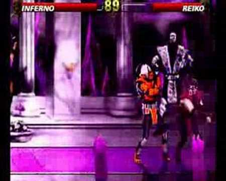 Inferno(New Char) Vs Reiko(Mk4)