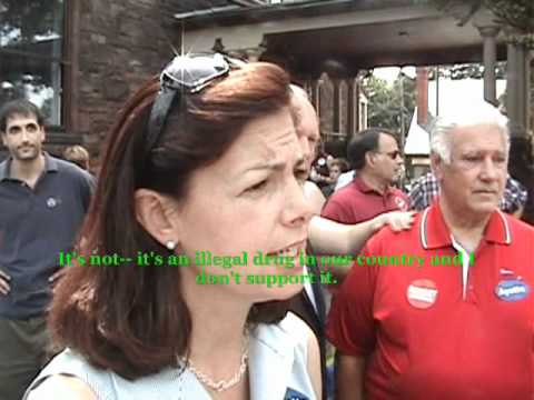 Kelly Ayotte Talks Medical Marijuana with a Disabled Navy Veteran