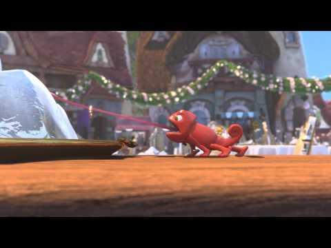 Corto enredados por siempre, un video infantil de animación con final feliz