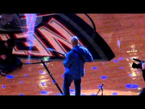 Bernie Williams National Anthem Nets Home Opener