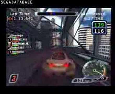 Sega Dreamcast: Speed Devils Online: Online race 2