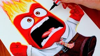 INSIDE OUT  Drawing ANGER