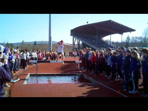 Birger Solberg Track and Field Invitational - Boy's 2k Steeplechase Run (04/07/2012 10:05 AM)