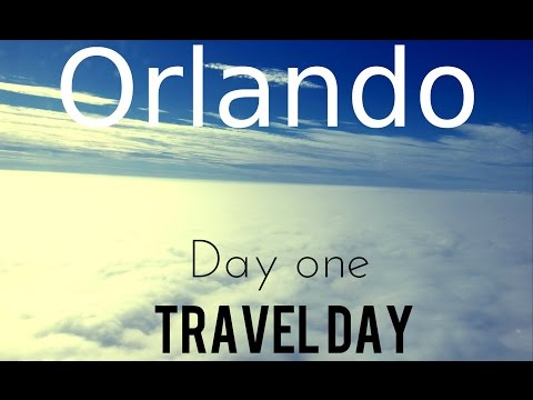 Orlando Holiday 03/10/15. Day one: Travel day.