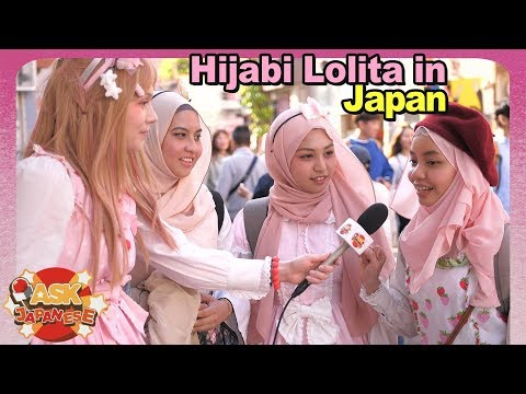 Hijab Lolita Fashion in Japan and Abroad|Interview with 3 Hijabi Lolita Fashion girls in Tokyo - YouTube