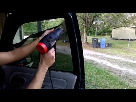 How to remove window tint fast easy and cheap