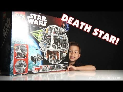 LEGO DEATH STAR Set 10188 Unboxing by EvanTubeHD - 1080p High Definition!