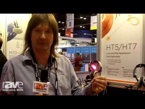 InfoComm 2015: Audix Microphones Exhibits HT7 Single-Ear Headset Microphone