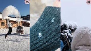 [Tiktok] Mùa đông tuyết rơi bên Trung Quốc lạnh như thế nào????😱