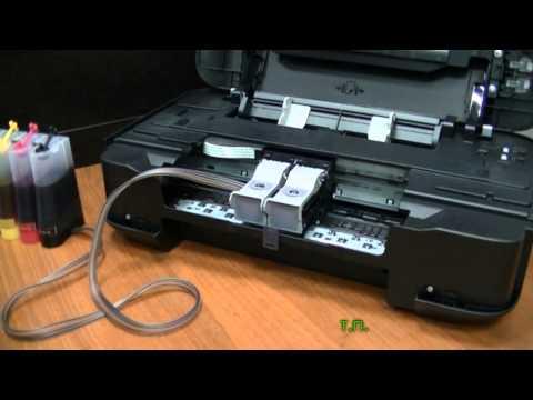 Установка СНПЧ Revcol на Canon Pixma IP2700