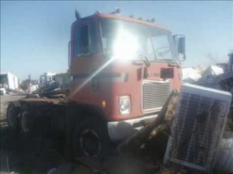Old Truck Junk Yard pictures Video