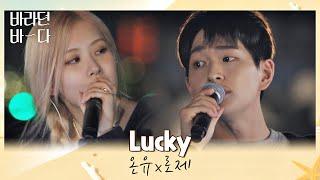 美친 조합에 나대는 심장··🤦♀️ 레전드로 남을 온유(ONEW)x로제(ROSÉ)의 〈Lucky〉♬ 바라던 바다 (sea of hope) 5회   JTBC 210727 방송