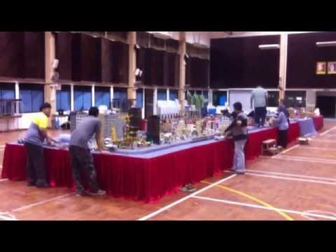 Pack up I LUG BN KB Lego train/town SMSA Brunei GoodwillDisplay 2014