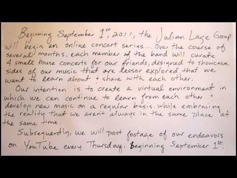 Julian Lage Group Presents...