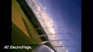 Flight with FlyCamOne on board