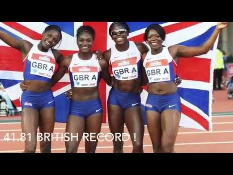 VLOG :2016 *HD* London Muller Anniversary Games Relay & RIO Olympic Send off
