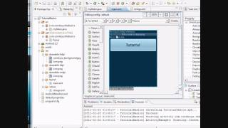 Android Tutorial & Lessons 4_ More XML and reference background