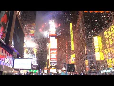 New Year's 2013 Times Square Celebrations